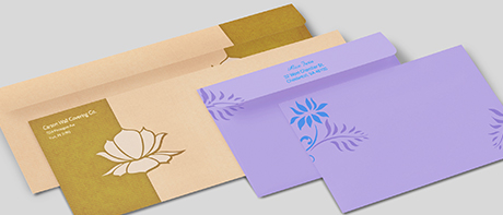 Custom printed envelopes